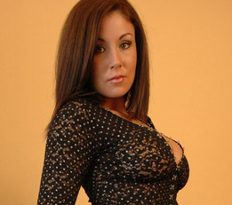 Krissy Tease In Her Mesh Outfit